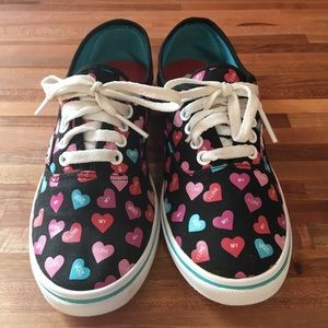 Candy Hearts Vans Shoes